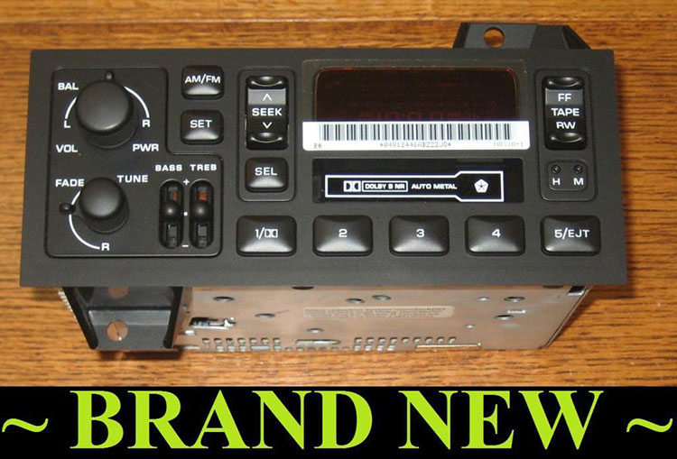 2000 dodge ram radio wiring oem radios vehicle    radio     amp  electronic original  oem radios vehicle    radio     amp  electronic original