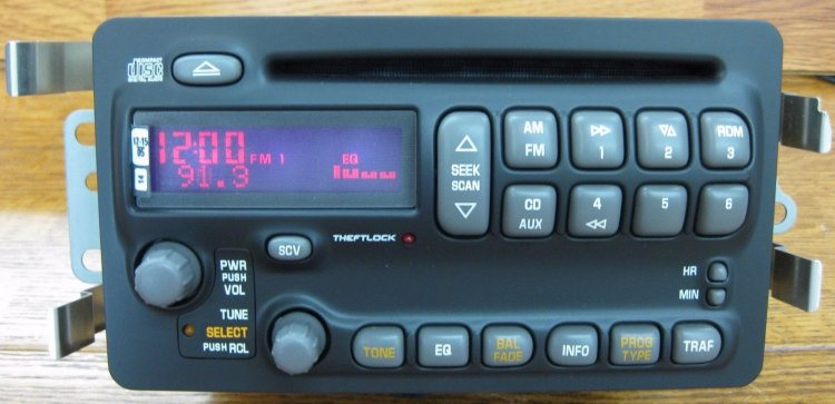 Oem Radios Vehicle Radio Electronic Original Replacement Parts Rhoemradios: Gm Stereo Audio Out At Gmaili.net