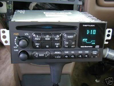 gm caprice oem radios vehicle radio & electronic original replacement parts GMC Wiring Schematics at bayanpartner.co